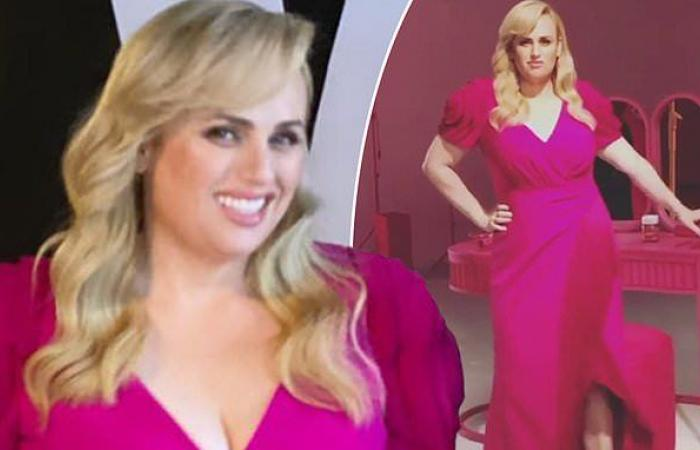 Rebel Wilson shows off her remarkable 30kg weight loss in ...