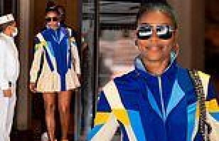 Gabrielle Union dons a leggy look in sporty tennis dress while stepping out ...