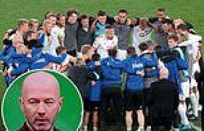 sport news Alan Shearer hails 'amazing scenes' as Denmark celebrate qualifying for the ...