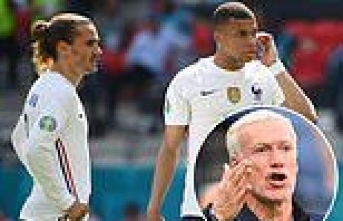 sport news Kylian Mbappe 'takes over France free-kick duty at Euro 2020 from Antoine ...