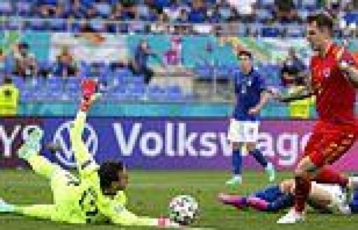 sport news He can't get a game for his club, but at Euro 2020 is Danny Ward of ...