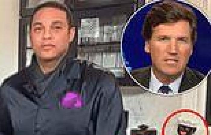 Tucker Carlson asks what black face cookie jar is doing in Don Lemon's kitchen