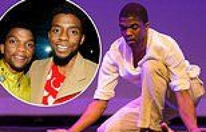 Chadwick Boseman's brother Kevin Boseman returns to the dance stage to honor ...
