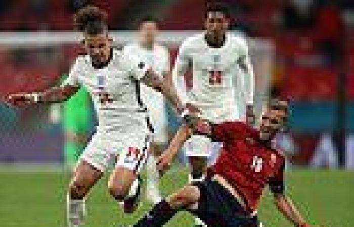 sport news Euro 2020: England are the SLOWEST team at building attacks at Euro 2020
