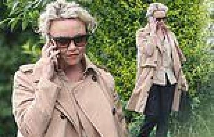Charlie Brooks steps out for the FIRST time since EastEnders comeback was ...