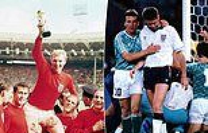 sport news Euro 2020: SEVEN classic clashes between England and Germany