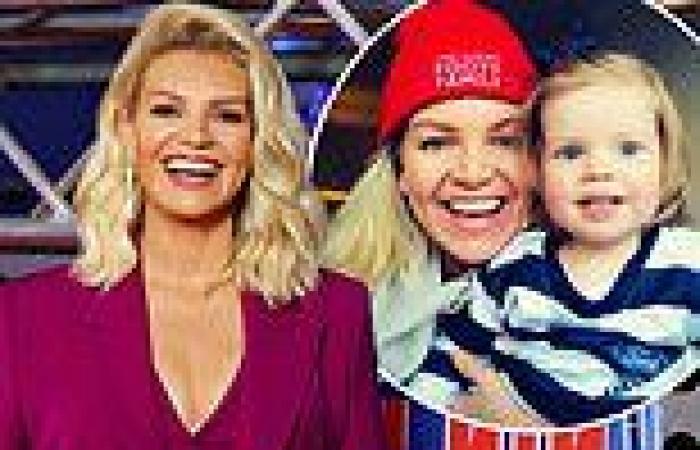 Rebecca Maddern is 'excited' to let her daughter watch Australian Ninja Warrior