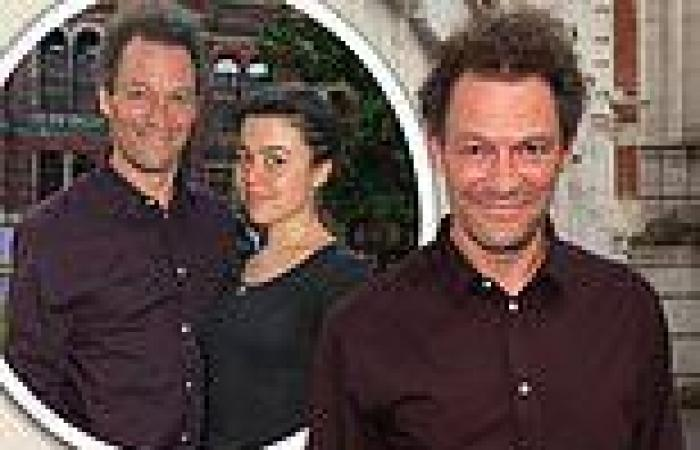 Dominic West poses with daughter Martha, 23, at star-studded V&A exhibition