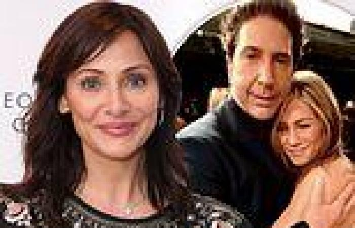 Natalie Imbruglia on ex David Schwimmer admitting he had a crush on Friends ...