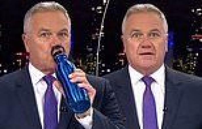 Seven News Melbourne anchor Peter Mitchell caught on camera 'having a drink'