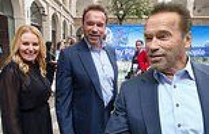 Arnold Schwarzenegger, 73, brings Heather Milligan, 46, to his climate summit ...