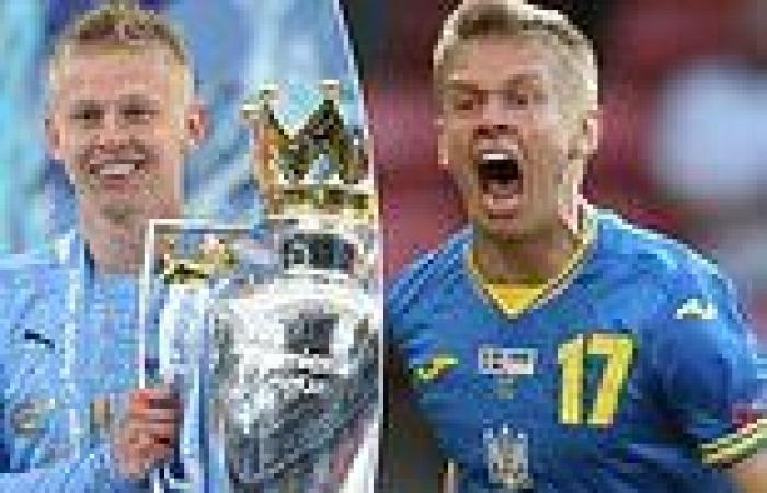 sport news Euro 2020: Oleksandr Zinchenko is Ukraine's darling as Man City man sets sights ...