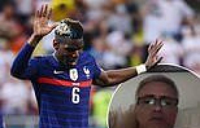 sport news Jose Mourinho SLAMS France for celebrating Paul Pogba's goal against ...