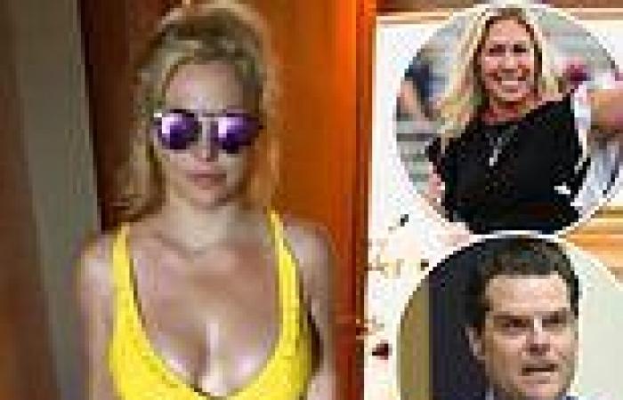 Matt Gaetz and Marjorie Taylor Greene invite pop star Spears to testify to ...