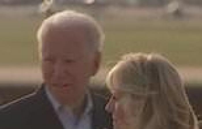 Biden steps back into role of consoler-in-chief as he flies to Florida to meet ...
