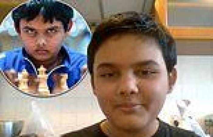 Chess whizzkid Abhi becomes world's youngest Grandmaster ever aged just 12