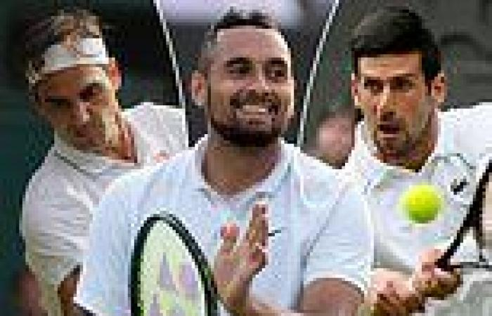 sport news Nick Kyrgios says he puts LESS pressure on his game now after storming into ...