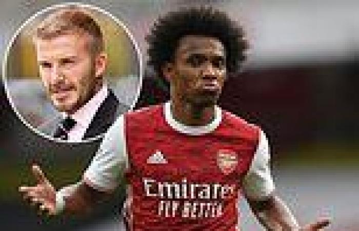 sport news Inter Miami have 'pulled out of a deal to sign Willian because of the Arsenal ...