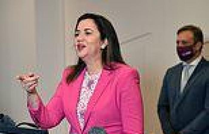 Covid-19 Australia: Moment Annastacia Palaszczuk refuses to answer question on ...