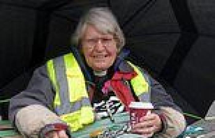 Retired vicar, 79, who took part in Extinction Rebellion road blockades is ...