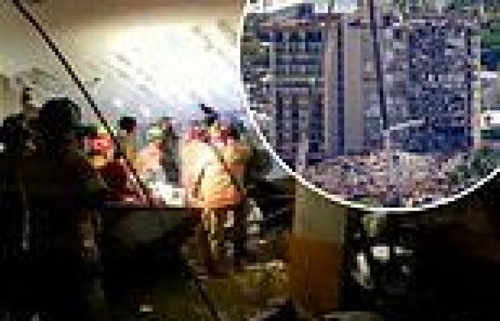 Rescuers reveal conversation with woman trapped in condo rubble they failed to ...