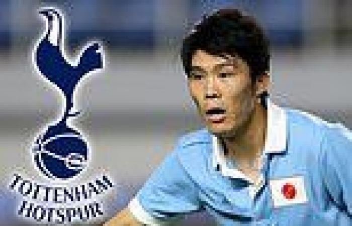 sport news Tottenham have £12.9m bid for highly rated Bologna defender Takehiro Tomiyasu ...