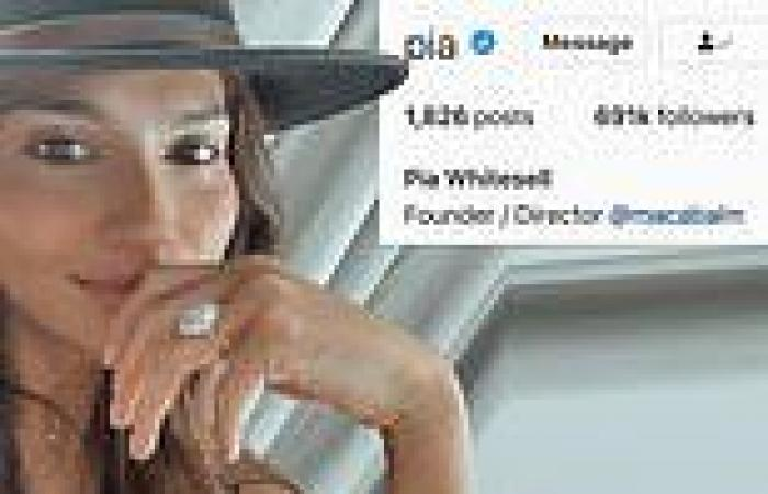 Pia Miller changes her surname to Whitesell on Instagram after secretly marrying