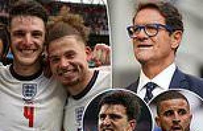 sport news FABIO CAPELLO EXCLUSIVE: Declan Rice and Kalvin Phillips are key for England