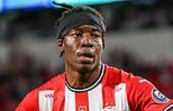 sport news Borussia Dortmund make enquiries for PSV's Noni Madueke as they hunt for Jadon ...