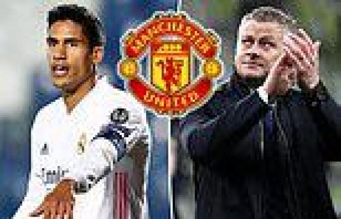 sport news Manchester United: Ole Gunnar Solskjaer's men 'closing in on Real Madrid ...