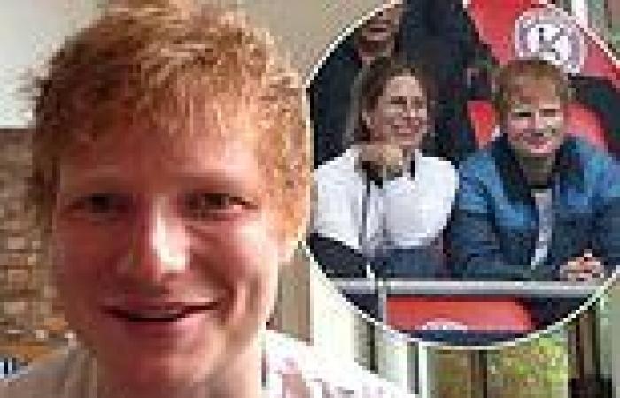 Ed Sheeran gives rare insight into his baby daughter's name Lyra Antarctica
