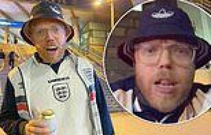 Euro 2020: Rob Beckett hailed a hero for filming his VERY rowdy night out ...