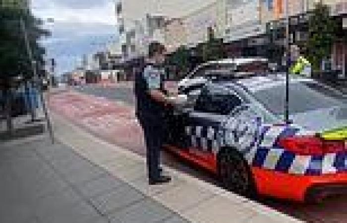 Two policemen are filmed parking in a bus zone but Australians are divided ...