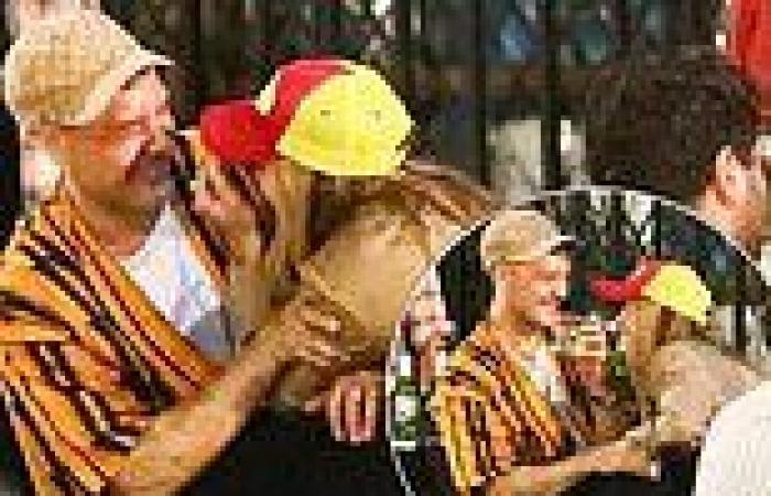 Rita Ora enjoys VERY giggly date night with beau Taika Waititi