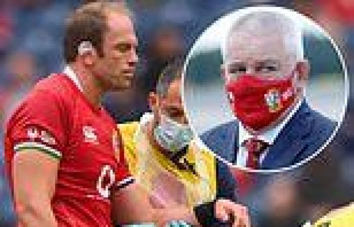 sport news Alun Wyn Jones could make a 'MIRACLE' recovery to play for the Lions, reveals ...