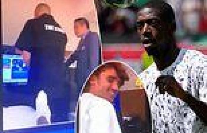 sport news Leaked social media clip shows Ousmane Dembele 'mocking Asian technicians' ...