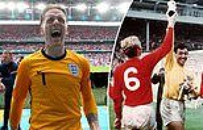 sport news Euro 2020: Pickford insists winning a medal for England like Gordon Banks ...