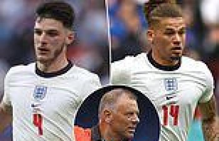 sport news Mark Halsey urges Declan Rice and Kalvin Phillips to show 'discipline' during ...