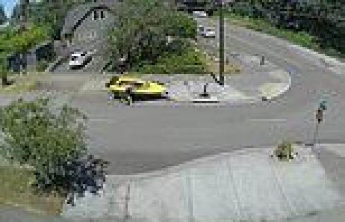 VIDEO: Man stops runaway boat on Washington state street