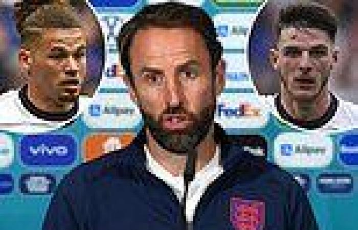 sport news Gareth Southgate reveals he will NOT rest  players who risk suspension in Euro ...