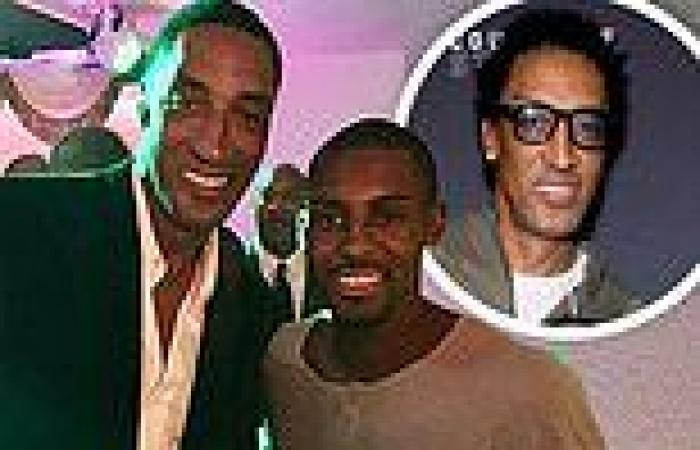 Scottie Pippen speaks about healing after his son Antron suddenly passed away ...
