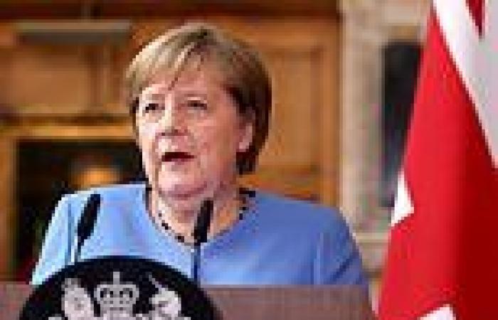 Angela Merkel expresses 'grave concern' over Wembley crowd size