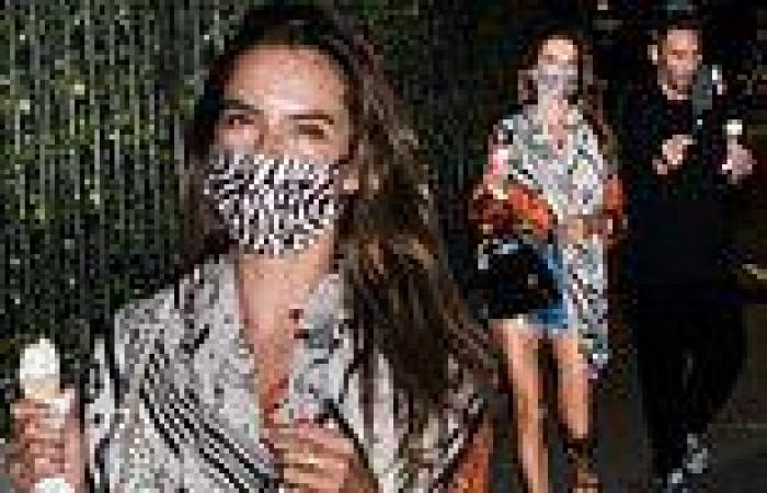 Alessandra Ambrosio vacations with beau Richard Lee in her native Brazil