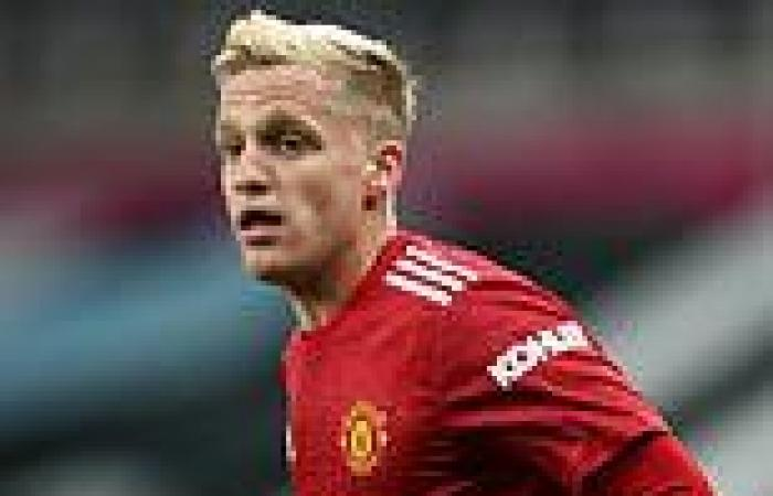sport news Real Madrid 'want Man United outcast Donny van de Beek on loan as part of ...