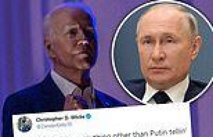 Critics tell Biden to keep his vow to get tough on Putin after 1 MILLION were ...