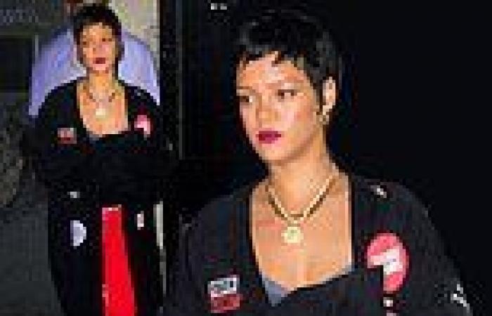 Rihanna rocks Raf Simons SS/21 maxi-cardigan to July 4th bash in NYC