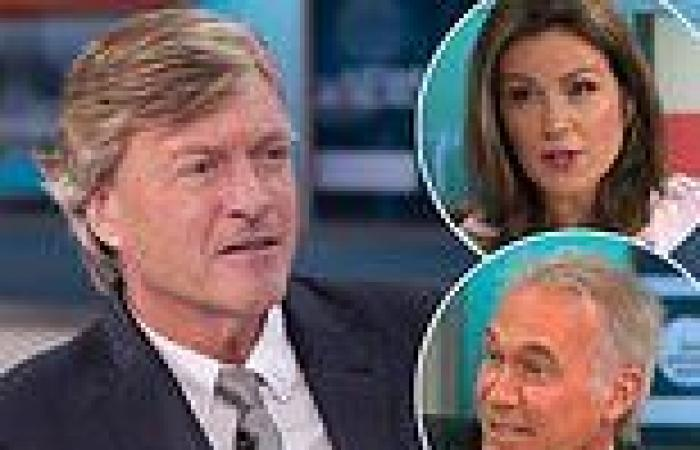 Richard Madeley argues with co-presenters Susanna Reid and Dr Hilary Jones ...