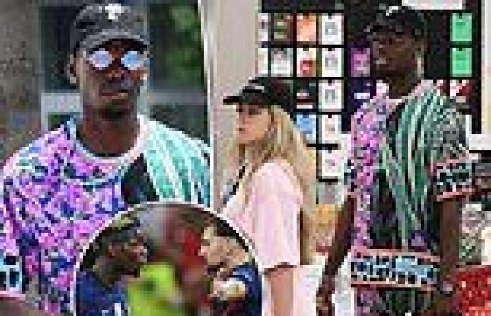 sport news Paul Pogba enjoys holiday in Miami with wife Maria Salaues amid fallout from ...