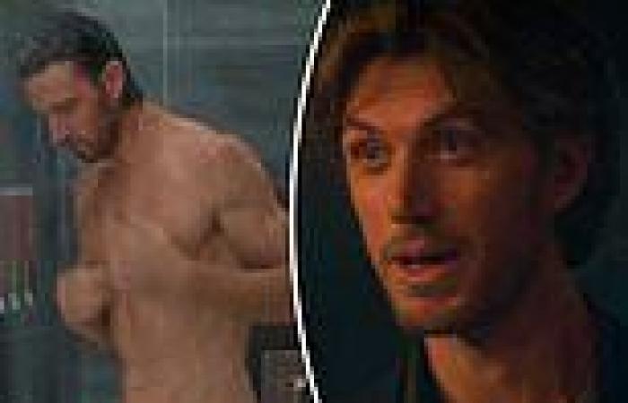 Sex/Life fans notice a HUGE editing fail in Adam Demos' nude shower scene -