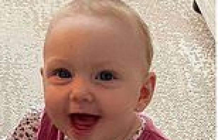 Freak accident with a hairdryer leaves baby blind for THREE DAYS with severe ...